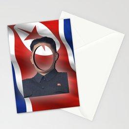 No-Face: Supreme Leader Kim Jong-un Stationery Cards