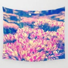 Bright Colorful Flowers  Wall Tapestry