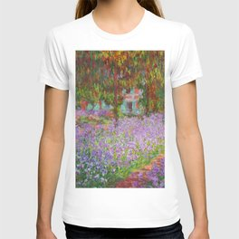 "Claude Monet ""The Artist's Garden at Giverny"" T-shirt"