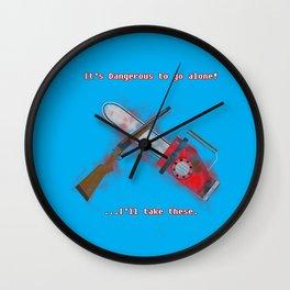 Evil Dead: It's Dangerous to go alone! Wall Clock