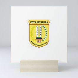 Flag of Bandung, indonesia Mini Art Print