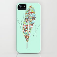 Love Feather Slim Case iPhone (5, 5s)