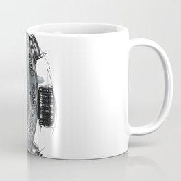 Black Phantom Coffee Mug