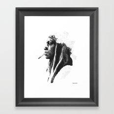 Tricky Framed Art Print