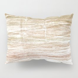 Light taupe abstract watercolor Pillow Sham