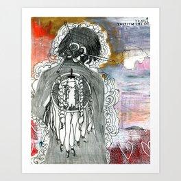 Prayer to the Mystery Art Print