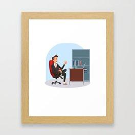 Big Boss National Boss Day Framed Art Print