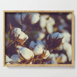 Cotton Field 18 Serving Tray