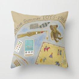Maine Toys 1965 Throw Pillow