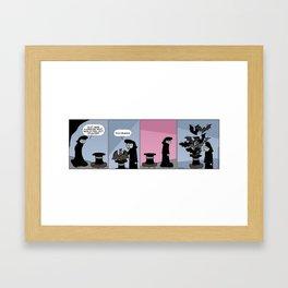 Hat Full of Bats Framed Art Print