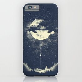 MOON CLIMBING iPhone Case