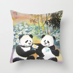 evening love story Throw Pillow