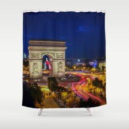 Arc de Triomphe in Paris Shower Curtain