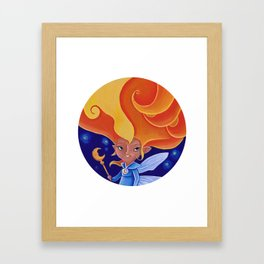 la fée Morganne Framed Art Print
