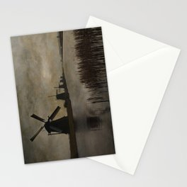 Windmills at Kinderdijk Holland Stationery Cards