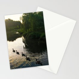 Morning Geese Stationery Cards