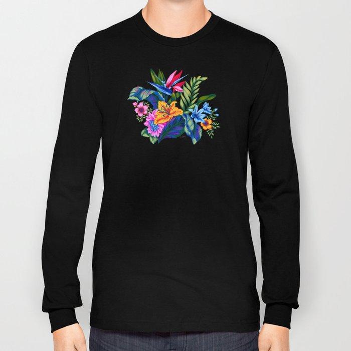 c37f56c8 Jungle Vibe Long Sleeve T-shirt by vikkisalmela | Society6