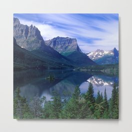 Montana Mountains Metal Print