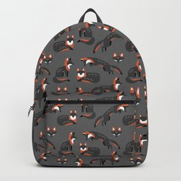 Grey Foxes Backpack