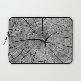 Weathered Old Wood Texture Laptop Sleeve