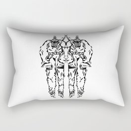 WARRIOR Rectangular Pillow