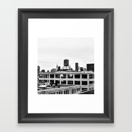 Queensboro Plaza Framed Art Print