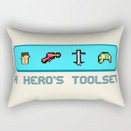 A Hero's Toolset Rectangular Pillow