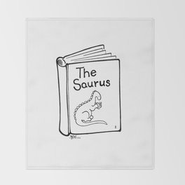 TheSaurus Throw Blanket