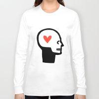 human Long Sleeve T-shirts featuring HUMAN by EMIL NASTI
