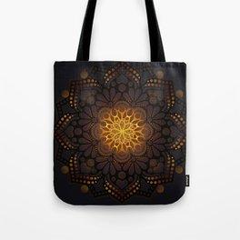 """Warm light Moroccan lantern Mandala"" Tote Bag"