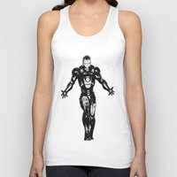 ironman Tank Tops featuring Ironman by Bailey D