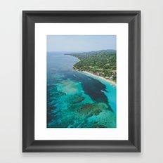 Roatan Island, Honduras III Framed Art Print