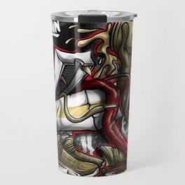 Shoe Poppin Royal Stain Travel Mug