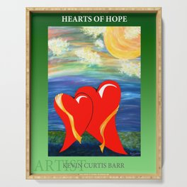 HEARTS OF HOPE 2 Serving Tray