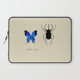 Butterfly & Beetle Laptop Sleeve