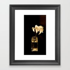Still Life in Sepia Framed Art Print