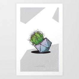 Cactus 5 Art Print
