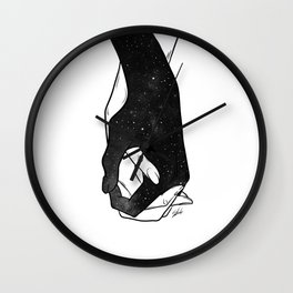 The love will stay. Wall Clock
