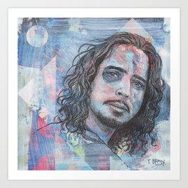 Chris Cornell - Nearly Forgot My Broken Heart Art Print