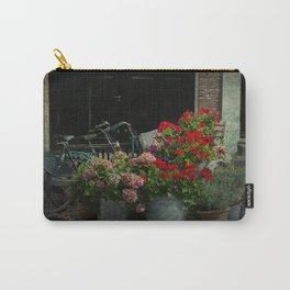 Still Life With Bicycles In The Dutch Village Carry-All Pouch