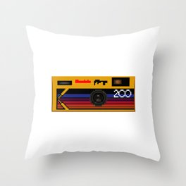 Disposable Photography Throw Pillow