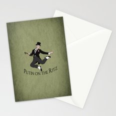 Putin on the Ritz Stationery Cards