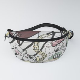 Alice in the Vortex Fanny Pack