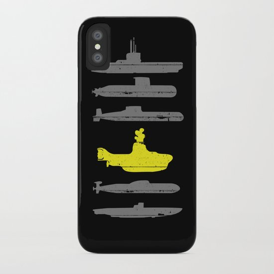 Know Your Submarines iPhone Case