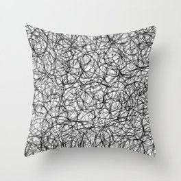 String Theory no.18 Throw Pillow