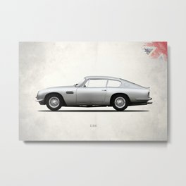 The DB6 Metal Print