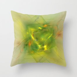 Folds In Paradise Throw Pillow