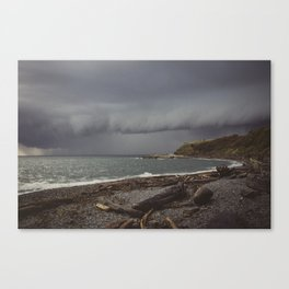 Stormy Coast Canvas Print