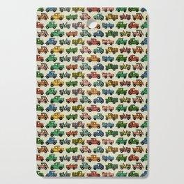 Cars and Trucks Cutting Board