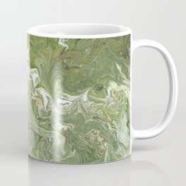 Green Swirl 4.1 Coffee Mug